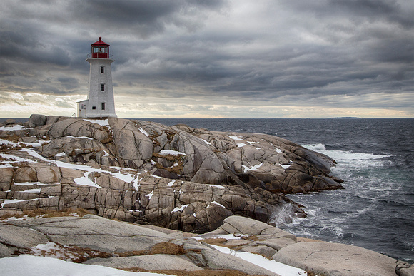 Peggy's Cove New Years Day